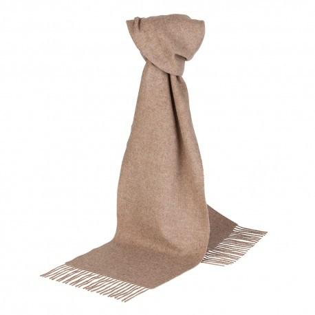 Billede af Beige halstørklæde i lambswool