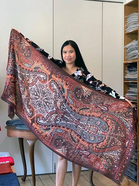 Paisley sjal